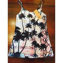 Vestido Gasa Mia Cruz Nuevo Verano 16