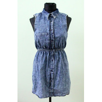 Vestido Chemise De Jean Nevado - Envios