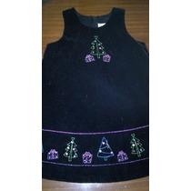 Vestido Jumper Navidad Talle 4 Divino!!