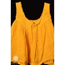 Vestido Para Bebe De Bambula - Ropa Vientos Del Este