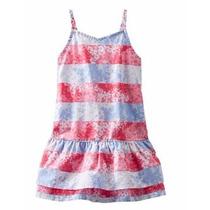 Vestido Osh Kosh -nena Playa Liviano 4 Años * Envio Gratis *