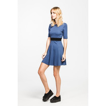Vestido Charlize Azul Estancias Chiripa