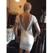 Vestido Encaje Novias Espalda Total Descubierta
