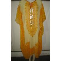 Vestido Tunica Egipcia Hindu Estampado T.xxl. P/mama