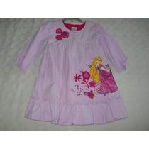 Vestido Importado Disney Store Rapunzel De Corderoy