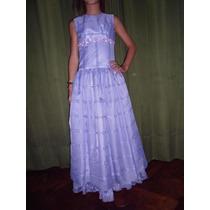 Vestido De Fiesta Talle 12 O 14