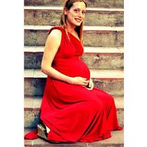 Vestido Para Embarazada Multimodelo 10 En 1, Jean, Pollera