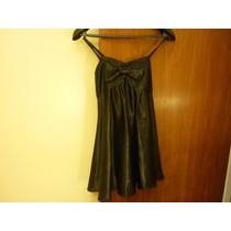 Vestido Negro (como Quieres Que Te Quiera) Talle 38/40 (s).