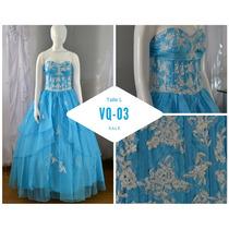 Hermoso Vestido De Quince - Listo Para Usar!
