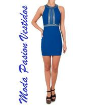 Hermoso Vestido Fiiesta Elastizado Transparencia Moda Pasión