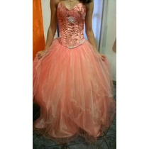 Vendo Vestido De 15 Color Salmon