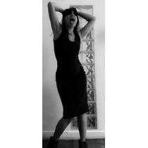 Vestido Negro Clásico De Vestite By Mariana López Rossi