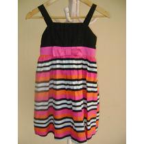 Vestido De Fiesta Informal Talle 8. Importado