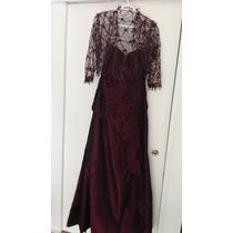 Vestido De Madrina , Telas Importadas, Diseño Exclusivo