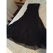 Vestido De Fiesta Negro Talle S
