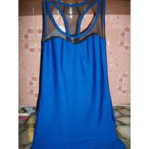 Vestido Azul Francia Corto Elastizado Precioso!!!