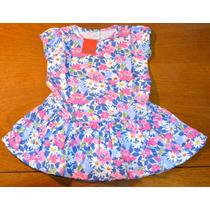 Vestido Risata Jersey Estampado Ta 2-8 Años Little Treasure