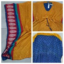 Vestido/playero/blusa De Seda- Importado-talle Unico!