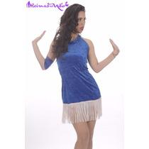 Vestido Para Danza Belly Dance Fusion Tango Bachata