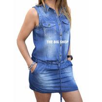 Vestido Enterito De Jeans Mujer