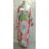 Yukata Kimono Japonés Adulto Mujer Hombre