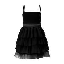 Vestido De Nena De Gasa Y Tul, Brishka N-0008
