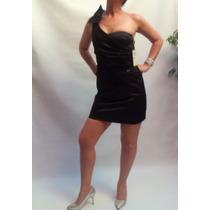 Vestido Corto Negro De Fiesta Zhoue Las Oreiro
