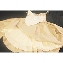 Venta Vestido Marca Maria Vazquez Strapless Doble Capa. T. S