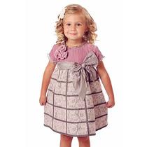Vestido Importado Fiesta Bautismo Nena T4 Trish Scully Usa