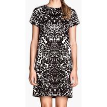 Vestido Remeron Animal Print H&m Nuevo
