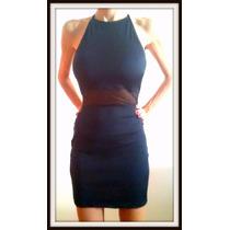Vestido De Lycra Con Transparencia Vs Colores