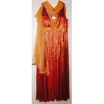 Glamoroso Vestido De Noche - Original De Laurencio Adot