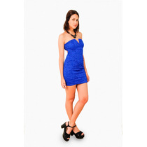 Vestido De Encaje Con Escote V, Brishka M-0039