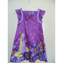 Vestido Infantil Enredados - Disney - Original