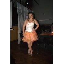 Vestido De 15 Corto + Largo Las Musas ´´ultimo Precio