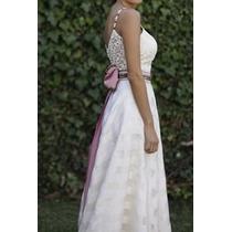 Vestido De Novia De Casamiento Color Natural