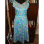 Retro Vintage Solero,vestido Años 70 Modelo Milka