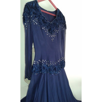 Vestido De Fiesta Largo Imp. Colecciòn 2014