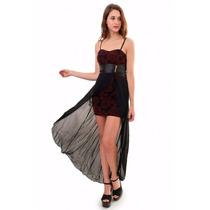 Vestido De Fiesta, Cola De Gasa, Brishka, V-0017