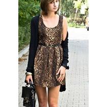 Vestido Leopardo Solo X Envio