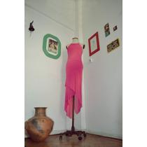 Vestido Fiesta - Falda Irregular - Espalda Abierta - Diseño