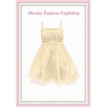 Vestidos Fiesta Nena Organza Comunion Cumple Ect Moda Pasion