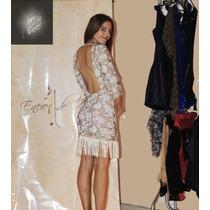 Vestido De Fiesta, Diseño Exclusivo, Espalda Descubierta