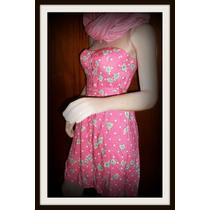 Vestido Strapless Importado Pin Up Girl Bachata Salsa