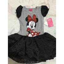 Vestido Minnie - 3 Años - Nuevo - Con Etiqueta - Disney