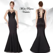 Elegante Vestido Sirena Importado Calce Perfecto Moda Pasion
