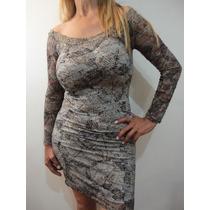 Finos Vestidos De Encaje Elastizado Forrados Super Modelador