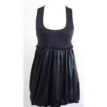 Divino Vestido Negro 47 Street-falda Globo-t2-impecable