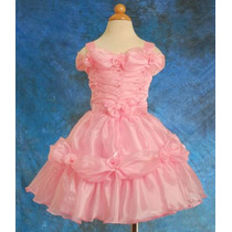Espectacular Vestido De Fiesta Para Niñas T. 2-3-4-5-6