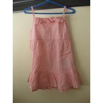 Vestido De Verano Rosa Nena Niña Talle 2 Nuevo C Etiqueta
